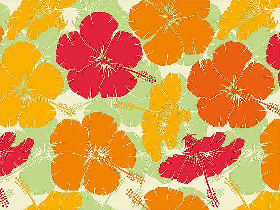 Hawaiian_Christmas_Card-Hibiscus